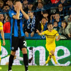 Christian Pulisic scores Dortmund's winner vs. Club Brugge in Champions League