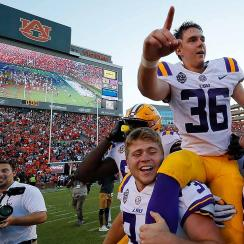 Cole Tracy: LSU kicker an unlikely transfer from Assumption College