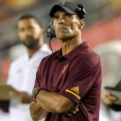Herm Edwards: Arizona State coach looks removed from ESPN career