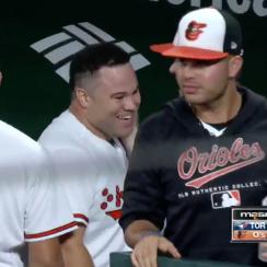 DJ Stewart: Orioles rookie's first MLB hit (video)