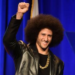 colin kaepernick, Harvard honor, W.E.B. Du Bois medal, 49ers, president donald trump, national anthem protests, dave chappelle