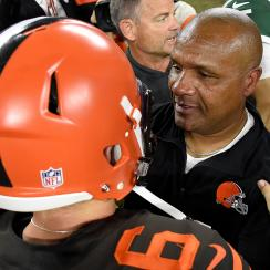 hue jackson, browns week 4 starting quarterback, browns, tyrod taylor, baker mayfield, Cleveland Browns, jets