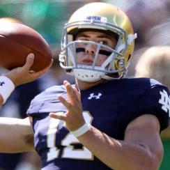 COLLEGE FOOTBALL: SEP 15 Vanderbilt at Notre Dame