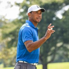 Tiger Woods tracker saturday tour championship