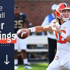 College football power rankings: Clemson, Trevor Lawrence redeem ACC's rough week