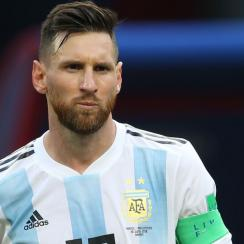 Messi won't play for Argentina in its October friendlies