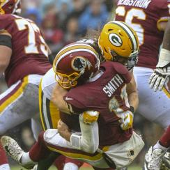 NFL: SEP 23 Packers at Redskins