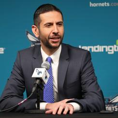 Charlotte Hornets Introduce James Borrego Press Conference