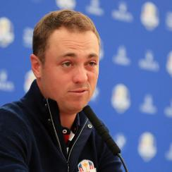 Justin Thomas: Rick Reilly asks odd question (video)
