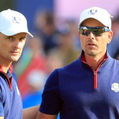Europe sweeps friday foursomes ryder cup usa justin rose henrik stenson