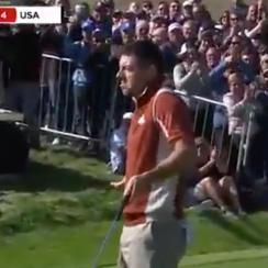 Rory McIlroy tash talk twitter Ryder Cup
