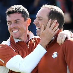Sergio Garcia Rory McIlroy Saturday fourball ryder cup le golf national