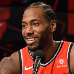 Kawhi Leonard laugh: Raptors F comments on video