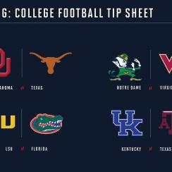 College football week 6 betting guide: Odds, picks for every game