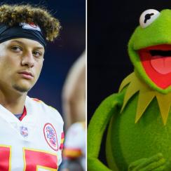 Patrick Mahomes voice: Chiefs say he sounds like Kermit the Frog