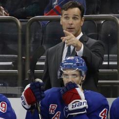 David Quinn begins first season as New York Rangers head coach