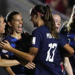 The U.S. women's national team routs Mexico to open World Cup qualifying