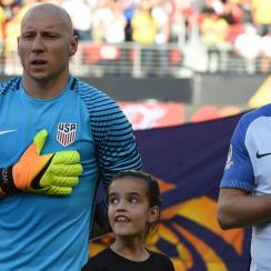 Brad Guzan and Michael Bradley are back in U.S. men's national team camp