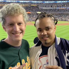 Yankees fan, A's fan from beer-throwing go to ALDS Game 4
