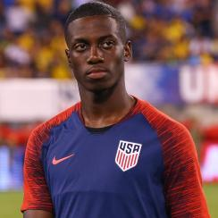 Tim Weah provided one of the USA's top moments vs. Colombia