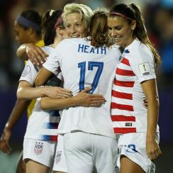 The USWNT faces Jamaica with a place in the Women's World Cup on the line
