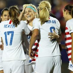 The U.S. women's national team is headed back to the World Cup