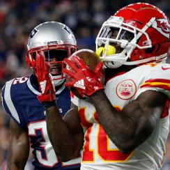 tyreek hill, chiefs, kansas city chiefs, new england patriots, patriots