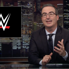 John Oliver WWE video: Saudi Arabia show under fire from HBO host