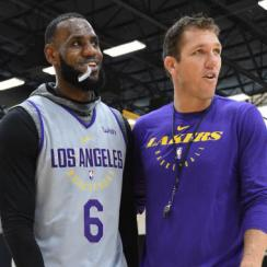Los Angeles Lakers Practice Session