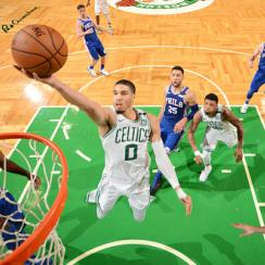 sixers vs celtics nba season opener