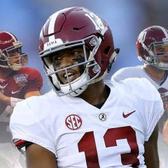 Tua Tagovailoa and Alabama quarterback history under Nick Saban