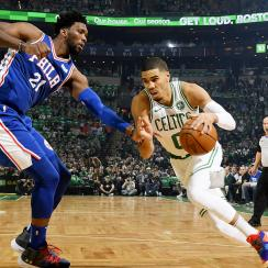 Philadelphia 76ers v Boston Celtics