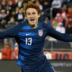 Josh Sargent scores for the USMNT vs. Peru