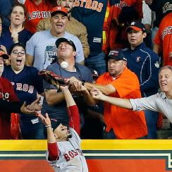 Mookie Betts fan interference photo: Faces, ranked