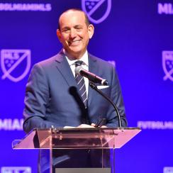 Don Garber goes into the National Soccer Hall of Fame