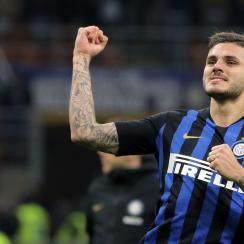 Mauro Icardi Winner AC Millan Inter Milan derby