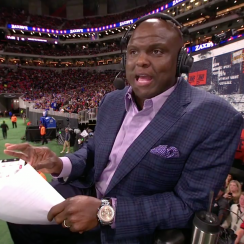 Booger McFarland: ESPN MNF analyst talks about peeing (video)