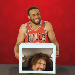 Video: Bulls prank Jabari Parker with Robin Lopez's head in box