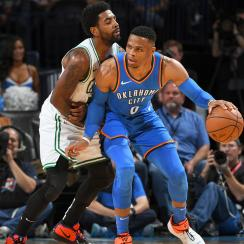 Boston Celtics v Oklahoma City Thunder