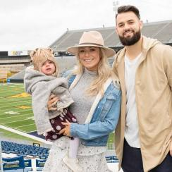 Will Grier on wife, daughter, transfer from Florida to West Virginia