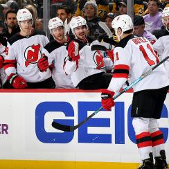 brian boyle, brian boyle hat trick, new jersey devils, hockey fights cancer