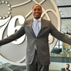 Philadelphia 76ers Introduce Elton Brand as GM