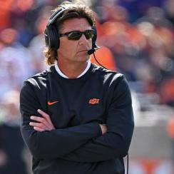 Mike Gundy uses buzzwords when asked about ease of transfers