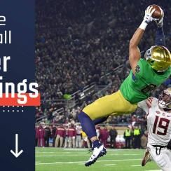College football power rankings: Notre Dame, Alabama, Clemson lead Top 25
