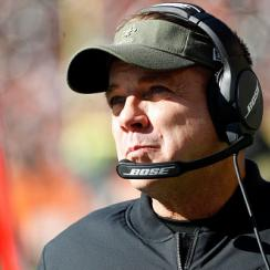 Sean Payton smashes fire alarm