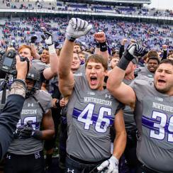 Northwestern free tickets big ten championship