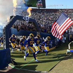 Rams offer free tickets to first responders and victims