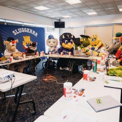 MLB Mascot Conference in Kansas City a vital part of the job