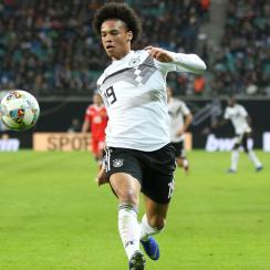 Leroy Sane scores for Germany vs. Russia