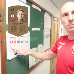 Morecambe's Kevin Ellison proves FIFA speed rating wrong